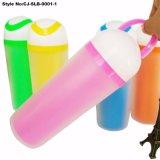 Bottiglia di plastica doppia a buon mercato personalizzata promozionale di marchio del regalo