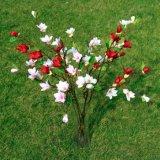 Искусственный шелк орхидей букет Stcik Magnolia свадебной моды арт стиле
