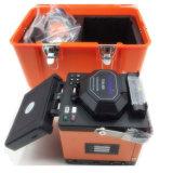 Techwin 섬유 융해 접착구 Tcw-605 Fusioadora De Fibra Optica는 모든 단계를 첫눈에 디스플레이한다