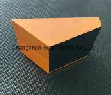 Prisma de la cuña óptica de la prisma de ángulo recto del vidrio óptico pequeña
