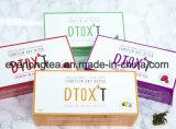 カスタマイズされたブランドのDtox'tの14日間の減量の解毒の茶混合された果実の注入
