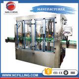 Máquina de Llenado de lavado de botellas de vidrio Máquina Tapadora de etiquetado para la cerveza