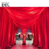 A tubulação portátil e drapeja para a cortina do contexto do divisor de quarto decora