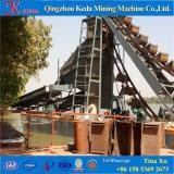 Dragueur d'or de chapelet hydraulique exporté par usine expérimentée