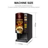 容易な作動させた即刻の粉の熱いコーヒー自動販売機F303