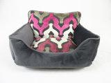 Новым красным подгонянная серым цветом кровать кота софы квадрата кресла малого среднего крупноразмерного хлопка холстины 2018 теплая