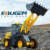 Eougem 1.7cbm 물통을%s 가진 조밀한 바퀴 로더 Gem636