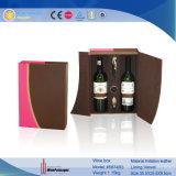 Dom De couro exclusivo decorativos personalizados Caixa de Exibição de vinho (5874)