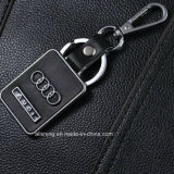 Het in het groot BulkEmbleem Keychain van de Auto van de Sleutelring van het Leer van de Manier van het Embleem van de Auto van de Manier met Beroemd Merk, BMW, Audi, Benz