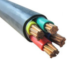0.6/1kv 4+1coreケーブルXLPEの絶縁体ケーブルの銅の電源コード