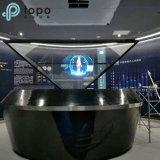 中国360の程度3Dのホログラフィック表示ショーケースガラス(HD360-TP)