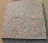 Горячий пылаемый желтый цвет сбываний/отполировал плитку гранита слябов вымощая камня G682 ржавую