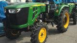 agricoltura di 45HP 50HP 55HP 60HP 4WD/trattore agricolo della rotella con il caricatore/escavatore a cucchiaia rovescia