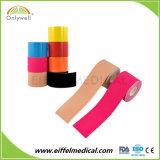 Kinesiología terapéutica muscular el algodón cinta elástica (CE, FDA aprobado).