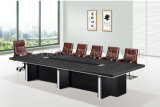 움직일 수 있는 사무용 가구 멜라민 회의장 회의 테이블 디자인 (SZ-MTT094)