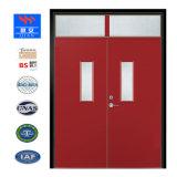 El acero Primary-Secondary puerta con el panel de vidrio
