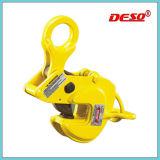 Aço que levanta a braçadeira horizontal com dispositivo do fechamento