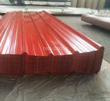 Stahlwand-gewelltes Lack beschichtetes galvanisiertes Metalldach färben