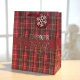 Bolsa de papel rojo de la Navidad, regalo bolsa de papel, bolsa de compras