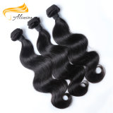 Cabelo humano de Remy de 100 extensões do cabelo da onda do corpo do cabelo do brasileiro