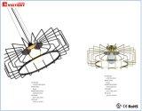 E27를 가진 둥근 지상 금 금속 프로젝트 천장 점화 LED 램프