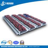 Sistema de goma limpio fácil impermeable de la estera de la entrada