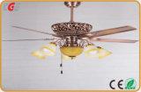 Светодиодные потолочные светильники атласный никель Lnvisible вентилятора вентилятор вентилятор на потолке свет домашнего использования, летом использовать