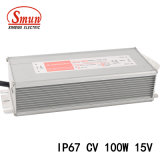 100W 15VCC 6.6A AC-DC la commutation de tension constante d'alimentation LED