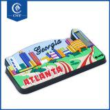 Venda por grosso de borracha PVC maleável personalizado cartas de alta qualidade frigobar Ímã