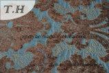 Tissu de sofa de Chenille de polyester et de viscose (FTH31006A)