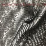 Mistura de algodão Poly seda tecido tingidos de Fios