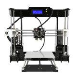 이중 압출기를 가진 Anet A8-M 새로운 3D 인쇄 기계