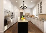 Da fábrica da madeira compensada de madeira contínua da mobília da cozinha diretamente gabinetes de cozinha modernos