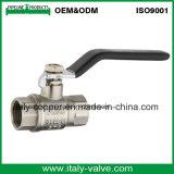 Gebildet in der China-Qualität schmiedeten weibliches Messingkugelventil (AV10074)