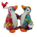 Brinquedo macio do pinguim do luxuoso do animal de mar do ODM para miúdos