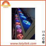 Цветастое цветное стекло Windows Тиффани и свет шарика плазмы панелей
