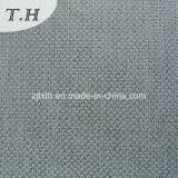 Tessuto di tela grigio 100% del sofà del poliestere del lusso