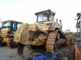 Trator usado do gato D8n da escavadora da esteira rolante da lagarta D8n grande