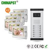 12PCSモニタキット(PST-VDO2-12K)とのアパートの別荘ビデオDoorphone