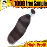 El tejer brasileño vendedor caliente Clip-en productos de pelo