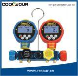 Calibro di Mainfold del collettore di alluminio di Coolsour/valvola stabiliti calibro del doppio