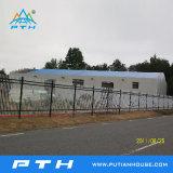 Construction préfabriquée de structure métallique de panneau de mur de sandwich à unité centrale