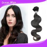 100% 인간 Virgin 머리 바디 파 도매가 (w-074)를 가진 인도 머리 연장