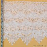La cosse à oeillet Fashion élastique tricot dentelle Tissu de coton d'accessoires de bandes
