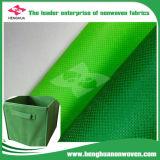 Telas múltiples del Non-Woven de los PP Spunboned del material de la fabricación de cajas del almacenaje del uso
