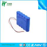 7.4V 18650 5c Pak van de Batterij van het Lithium van het Tarief 2200mAh het Ionen voor Stofzuiger