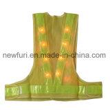 Maglia riflettente infiammante all'ingrosso del Workwear della maglia di sicurezza del LED