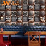 2018 het Nieuwe 3D Document van de Muur van de Decoratie van het Huis van pvc Waterdichte
