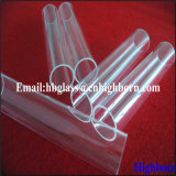 Polishing Transparent Fused Quartz Glass Pipeline Supplier