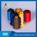 回された100%年のポリエステルヤーンの環境に優しい縫う糸の刺繍の糸